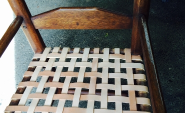 Woven Chair After Repairs