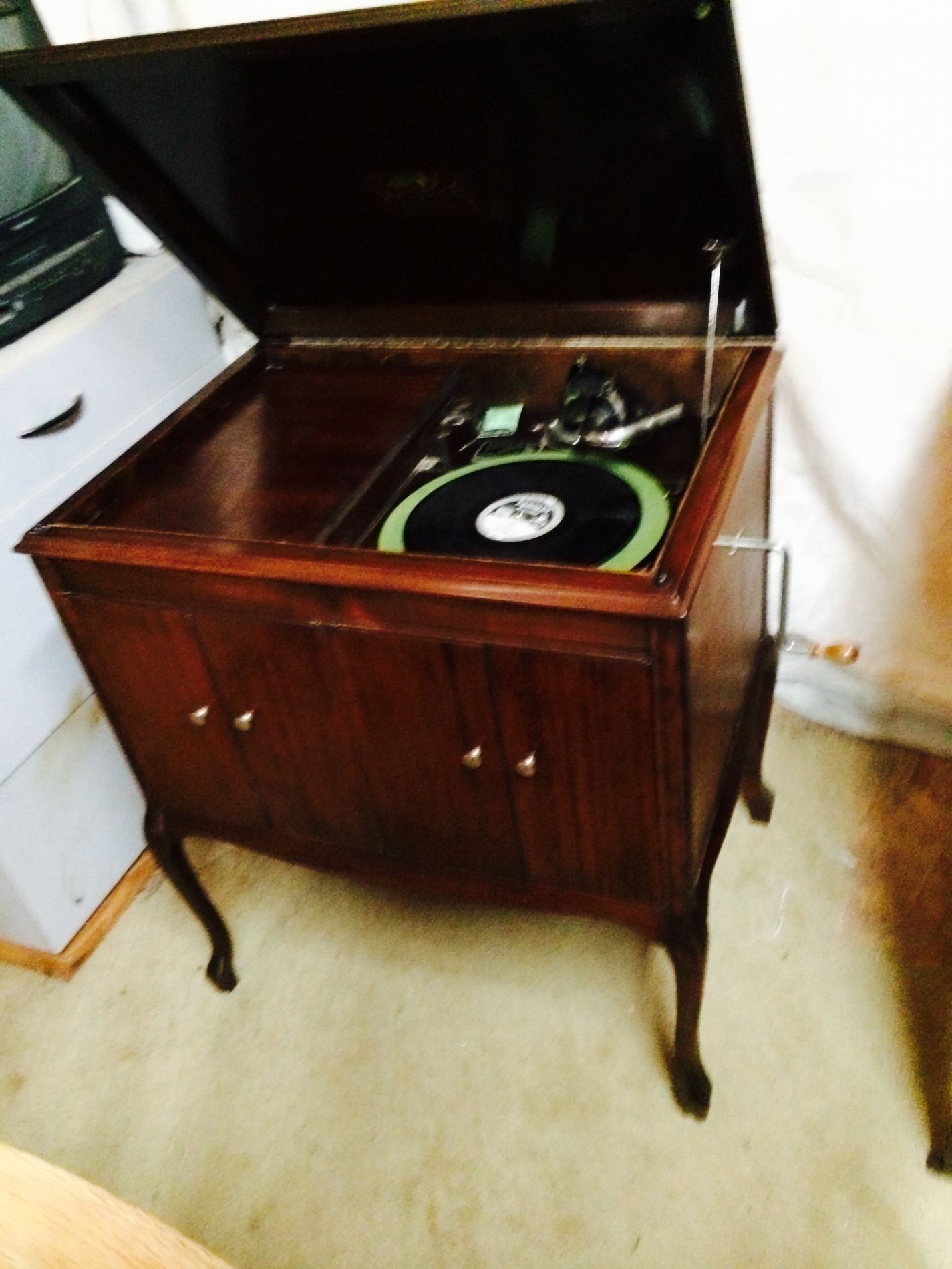 Restore Console Record Player
